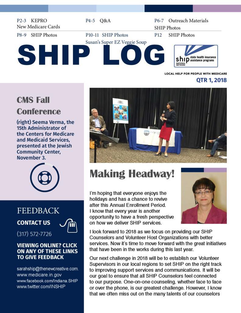 SHIP Log 1-18